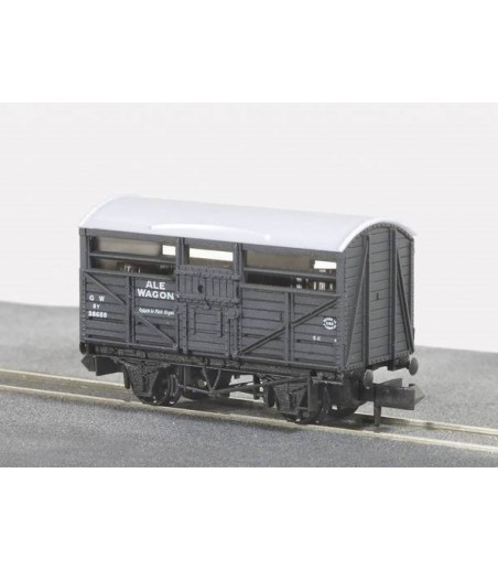 Peco Ale Wagon, GW, grey, No.38659 N Gauge NR-46B