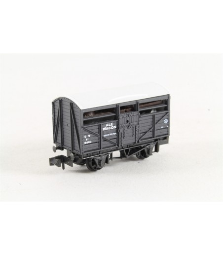 Peco Ale Wagon, GW, grey, No.186461 N Gauge NR-46C