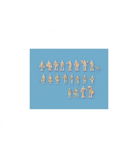 Peco Assorted Unpainted Figures set B n Gauge peco5157