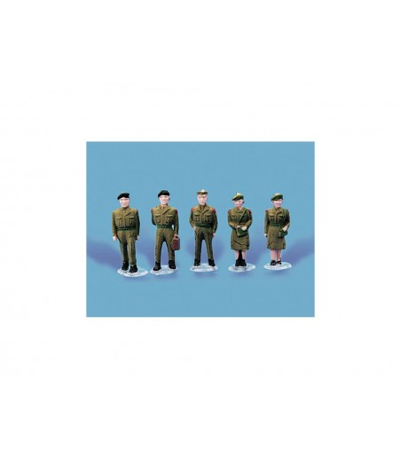 Peco Army Personnel oo Gauge peco5116