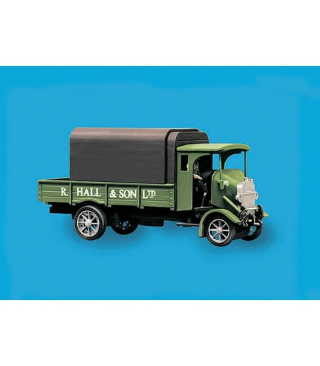 Peco Thornycroft PB 4 Ton Lorry, Hall & Sons Livery oo Gauge peco5135