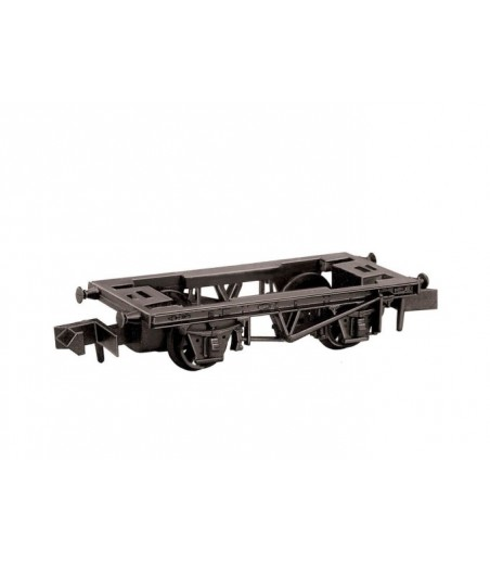 Peco 10ft Wheelbase steel type solebars Chassis Kit N Gauge NR-121