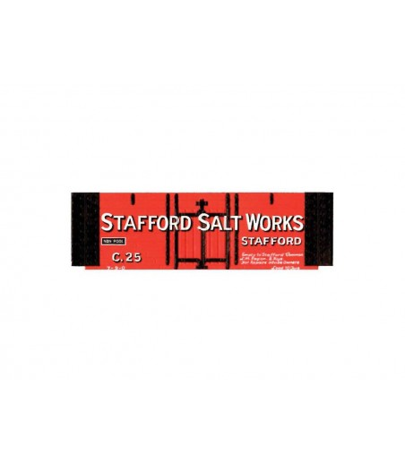 Peco Salt, Stafford,  red OO Gauge R-58SS