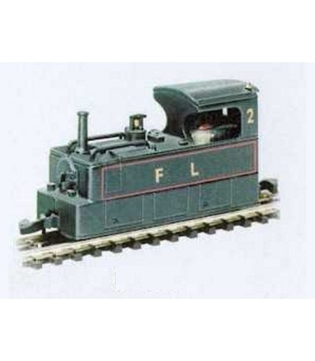 Peco 0-6-0 Saddle Tank Locomotive Body N-6.5 Gauge NG-652