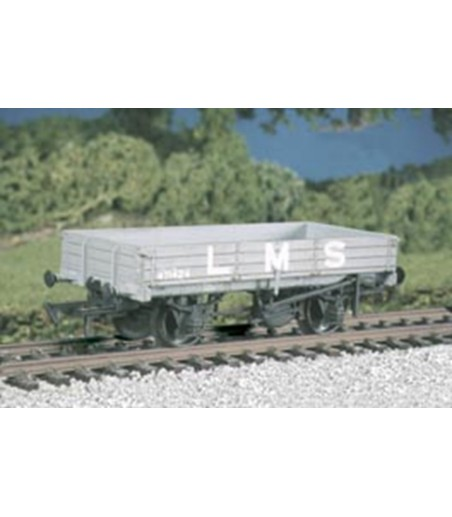 Ratio LMS 3-Plank Medium Open Wagon (M/W) All Gauges 573