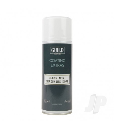 Guild Materials Clear Non-Shrinking Dope (400ml Aerosol)