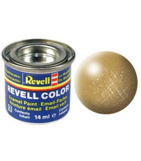 REVELL 14ML 94 ENAMEL METALLIC GOLD PAINT