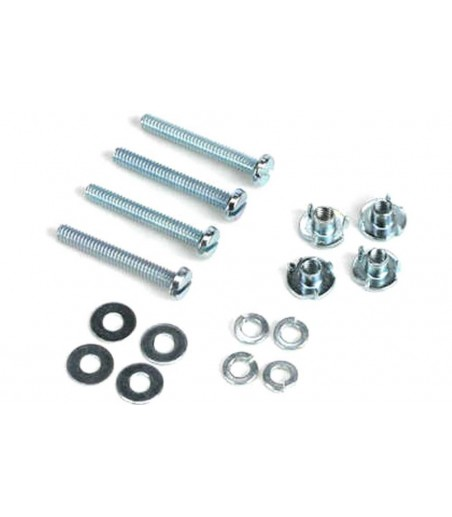 """Dubro 4-40 x 1-1/4"""" Mounting Bolts & Blind Nuts (4 Pack)"""