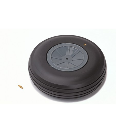 """Dubro 3-3/4"""" (95mm) Large Scale Treaded Wheel"""