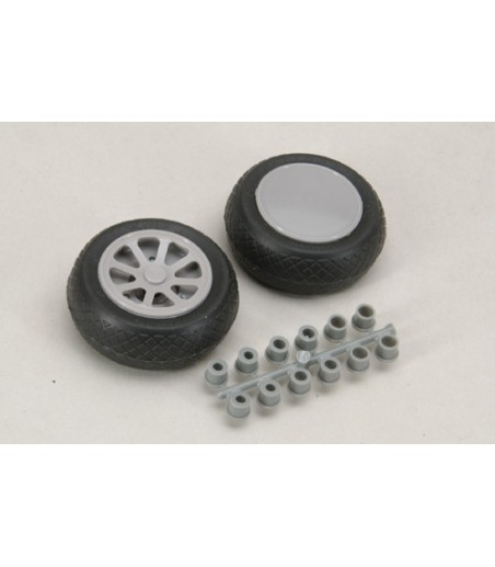 "Robart Scale Wheel-Diamond Tread (2""/Pr)"