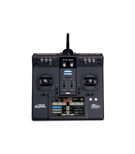 ASSOCIATED XP2G 2.4GHZ 2CH RADIO SET (WHEEL)