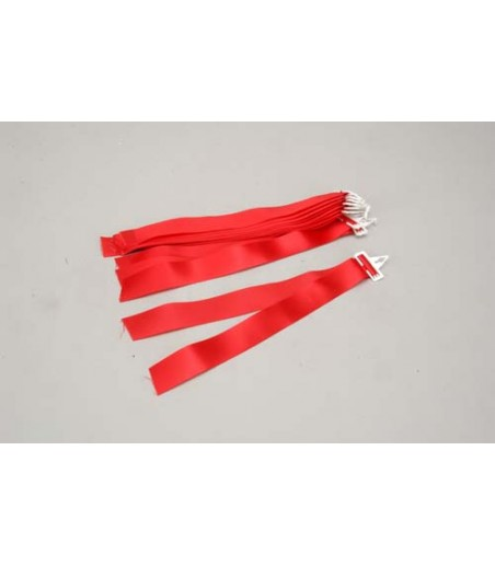 Slec 27MHz Frequency Pennant - Red (Ea)