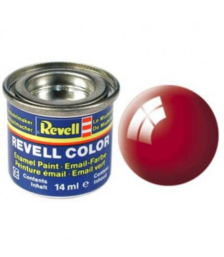 Revell 14ml Tinlets 31  Fiery Red Gloss